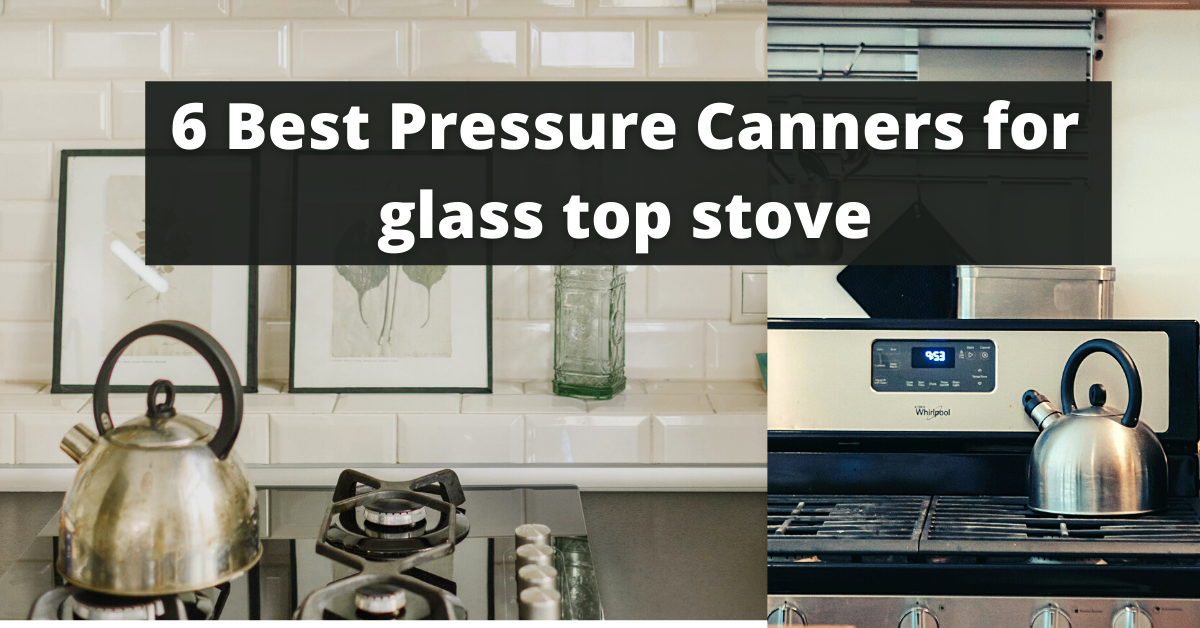 6 Best Pressure Canners for glass top stove