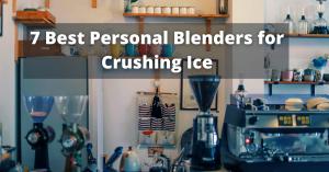 Blenders for Crushing Ice