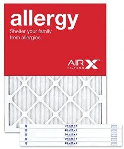 AIRx ALLERGY 20x25x1 MERV 11 Pleated Air Filter