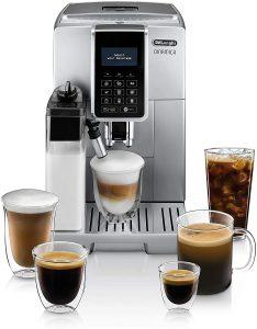 De'Longhi ECAM35075SI Dinamica with LatteCrema, Fully Automatic Espresso Machine