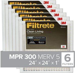 Filtrete BD12-6PK-1E 24x24x1
