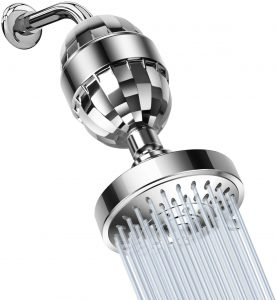 GOMAX 15 Stage Premium Shower Water Filter - 5 Pressure Setting