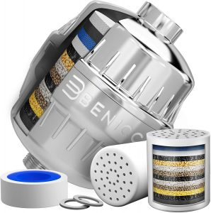 Luxurious 15 Stage Shower Head Filtration System and Water Softener