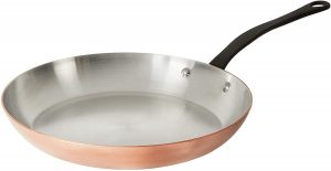 Mauviel 0 M'Heritage Copper Round Frying Pan