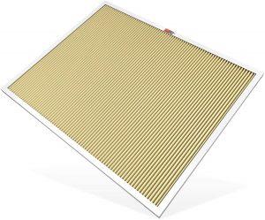 K&N 24x30x1 HVAC Air Filter; Lasts a Lifetime; Washable; Merv 11; Filters Allergies, HVC-12430